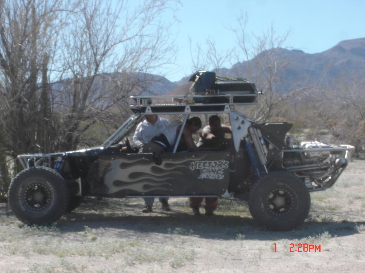 Hector's Gang Pre Run Baja 250 2008 Just Past Matomi Was