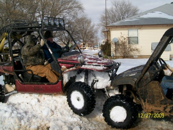 Snow Storm of 2009   Justin giving a push.JPG