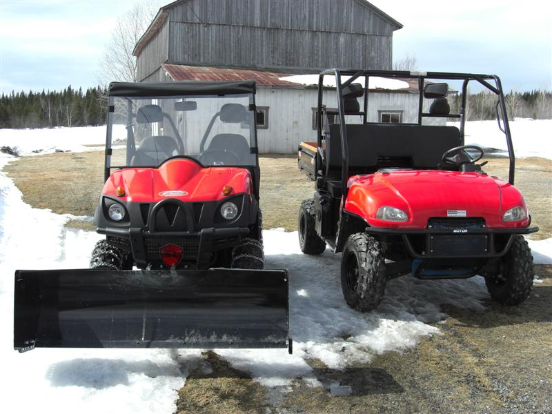 Mammoth 800 and Spartan 500