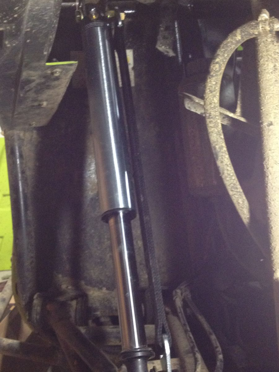 left rear shock