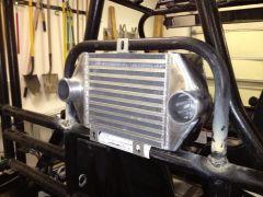 Inter cooler mount
