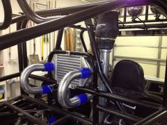 Intercooler and relocated snorkel