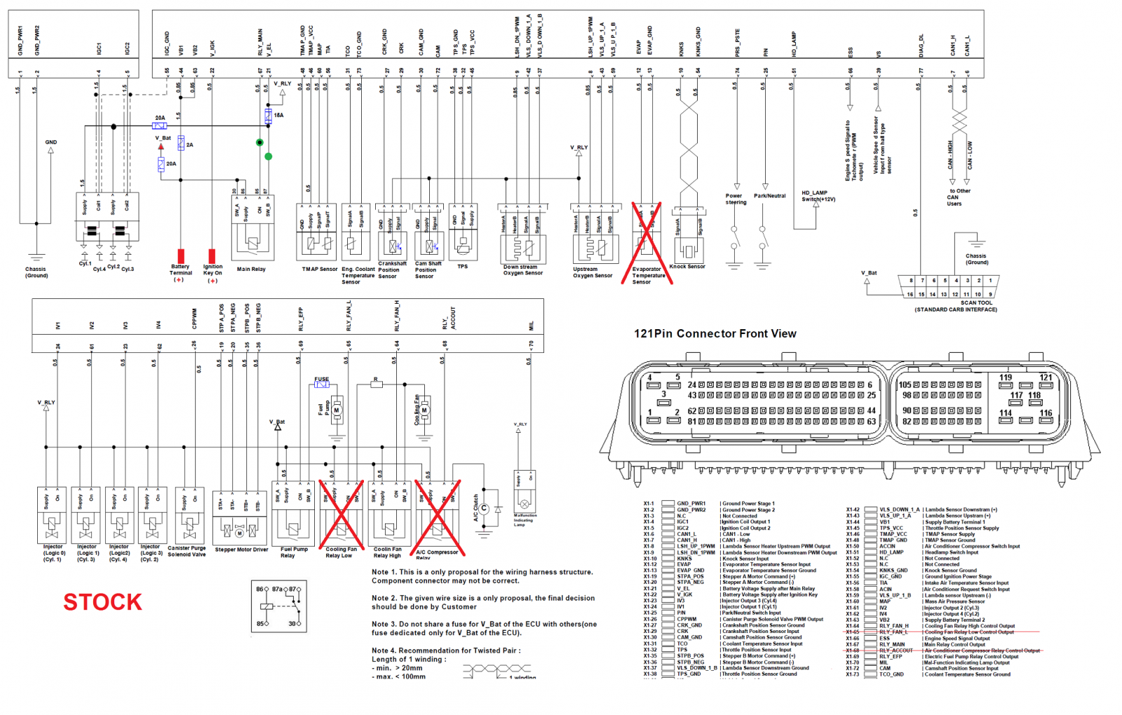 Trooper ECU Wiring Diagram