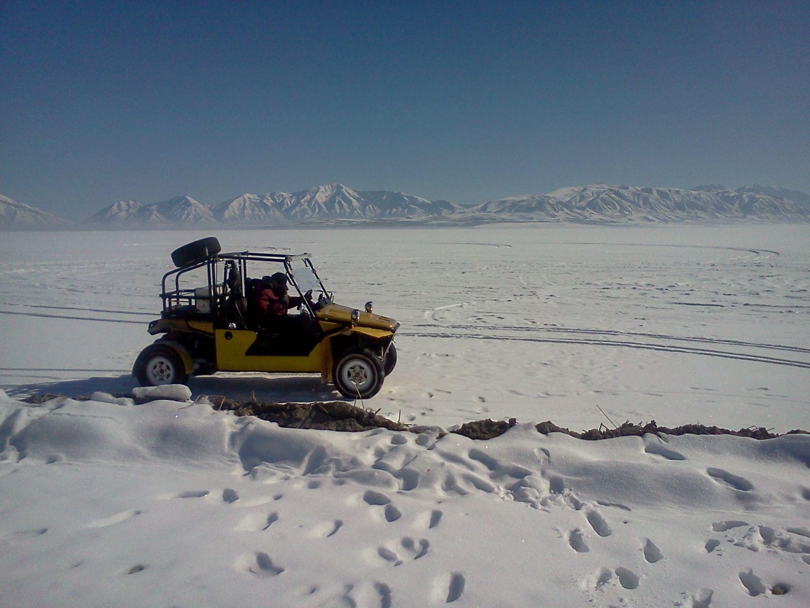On Utah Lake