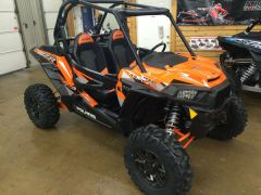 Orange Polaris RZR XP Turbo Jensen Brothers offroad
