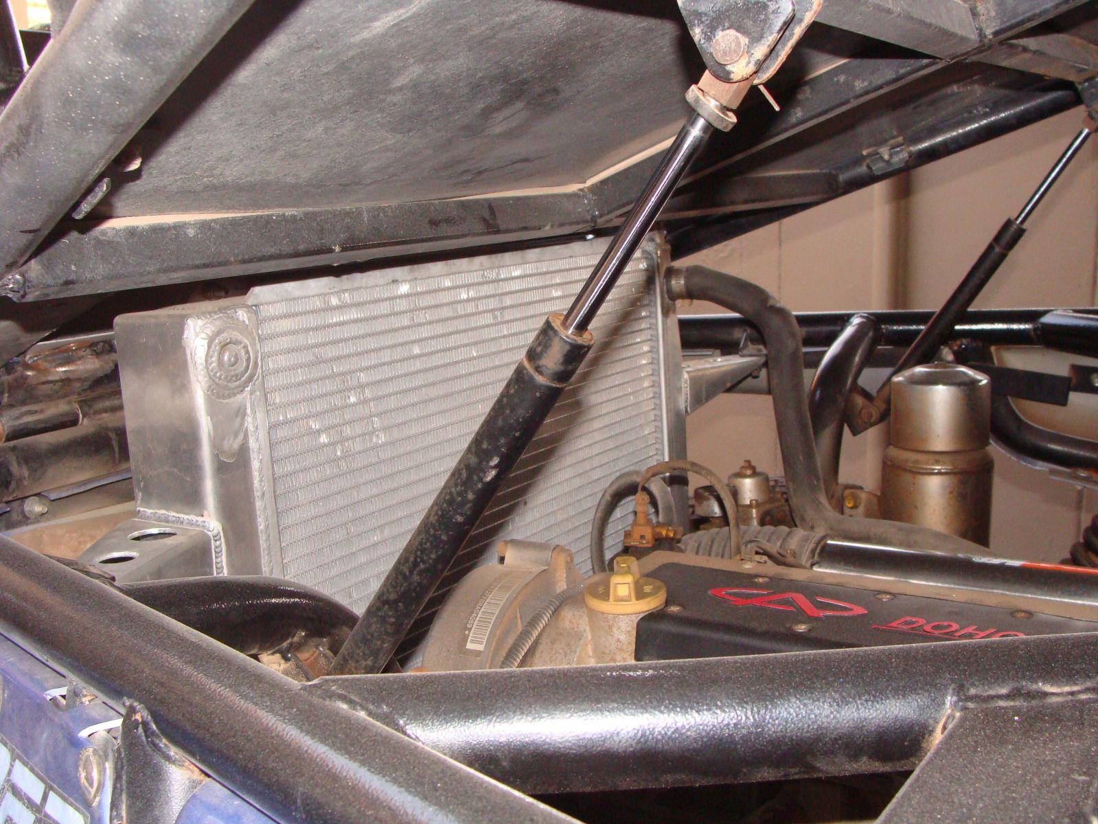 Larger Radiator Close Up