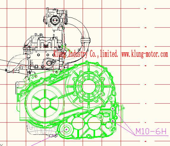 CVT trans For 472 engine