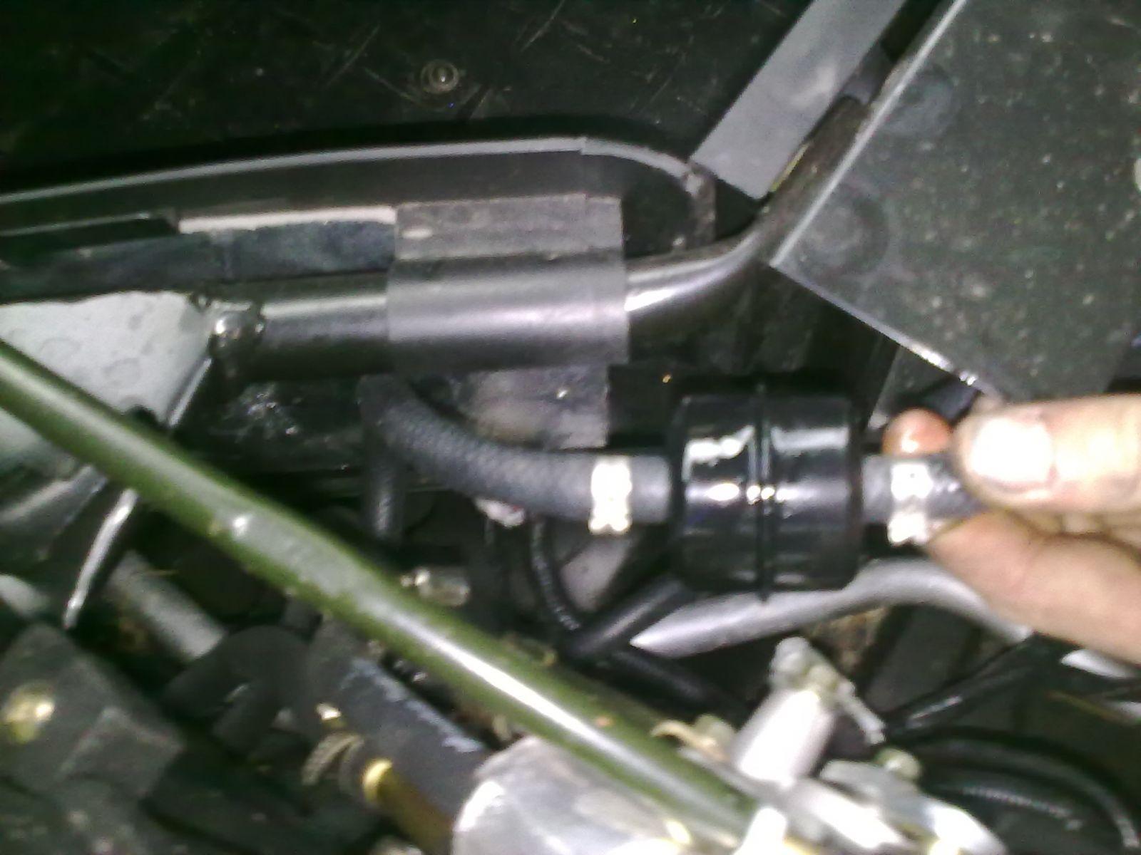 UTV 700 EFI Filter repair Leak gazoline 7 Kms B