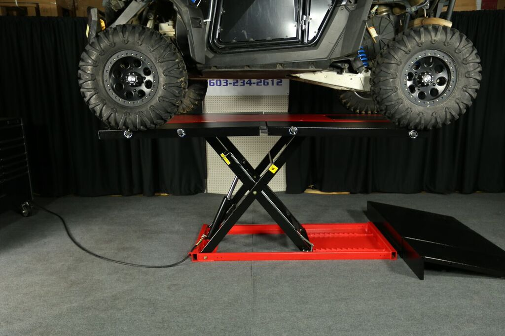 Pro 2500 Atv Utv Side By Side Lift Table For Sale 1799