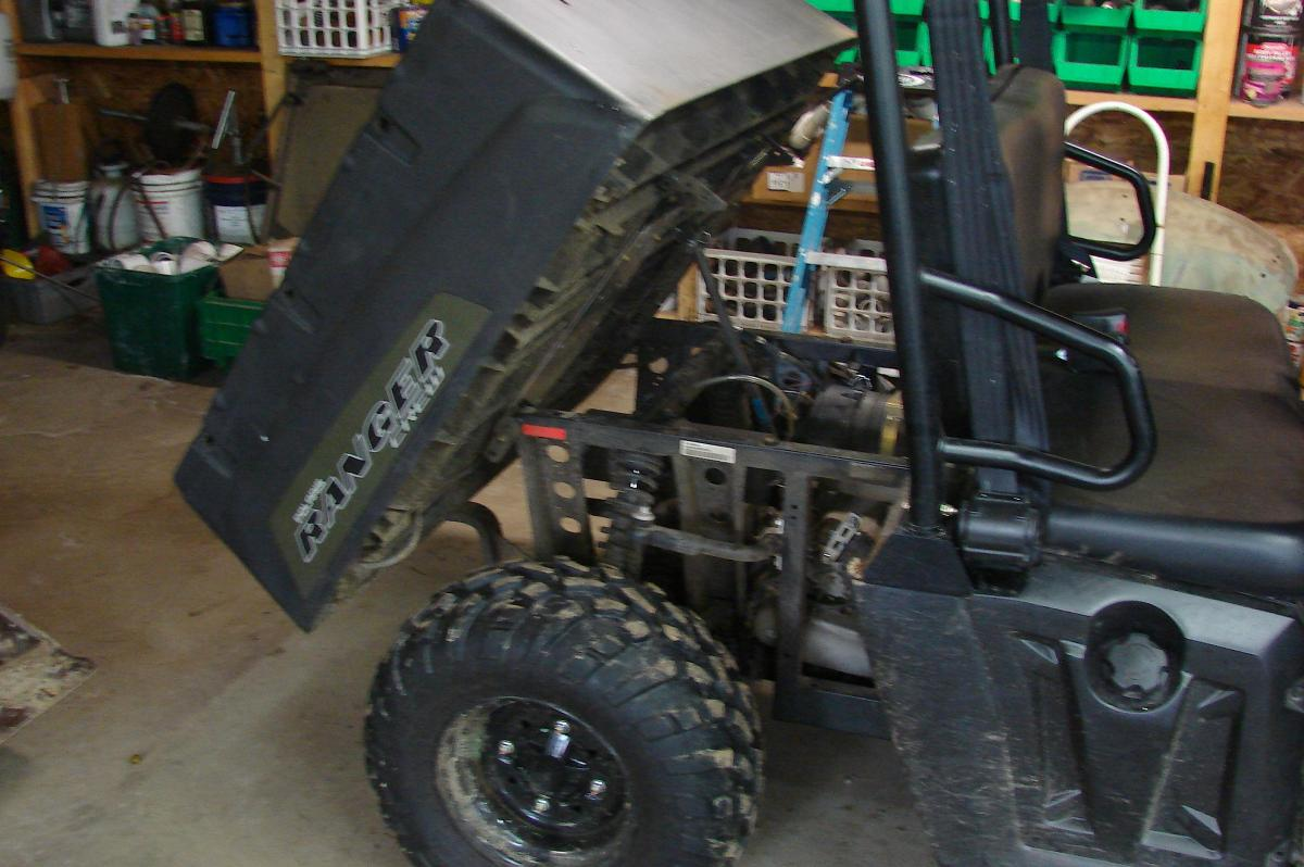 For Sale: 2011 Polaris Ranger Crew 500, Only 79 Hours, All