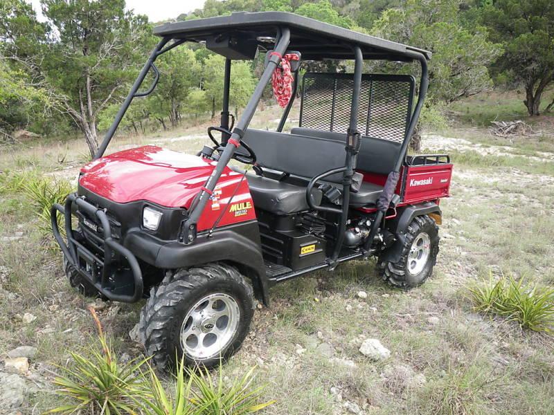 For Sale: 2007 Kawasaki Mule 4x4 Trans 3010 Deluxe - $3500 - UTV Off