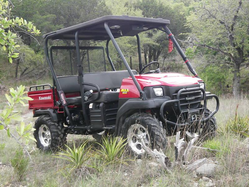 For Sale: 2007 Kawasaki Mule 4x4 Trans 3010 Deluxe - $3500
