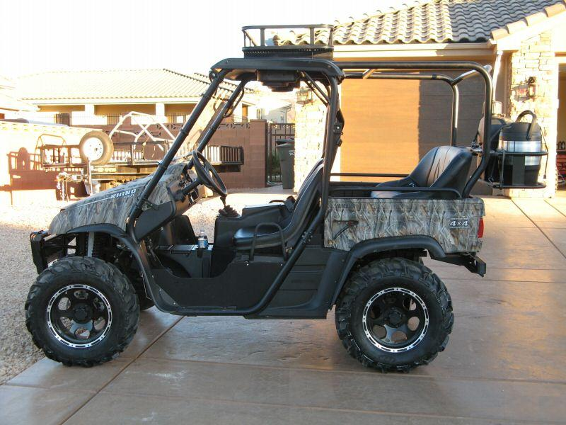 2006 Custom Yamaha Rhino 660 4x4 Rear Bench 4500
