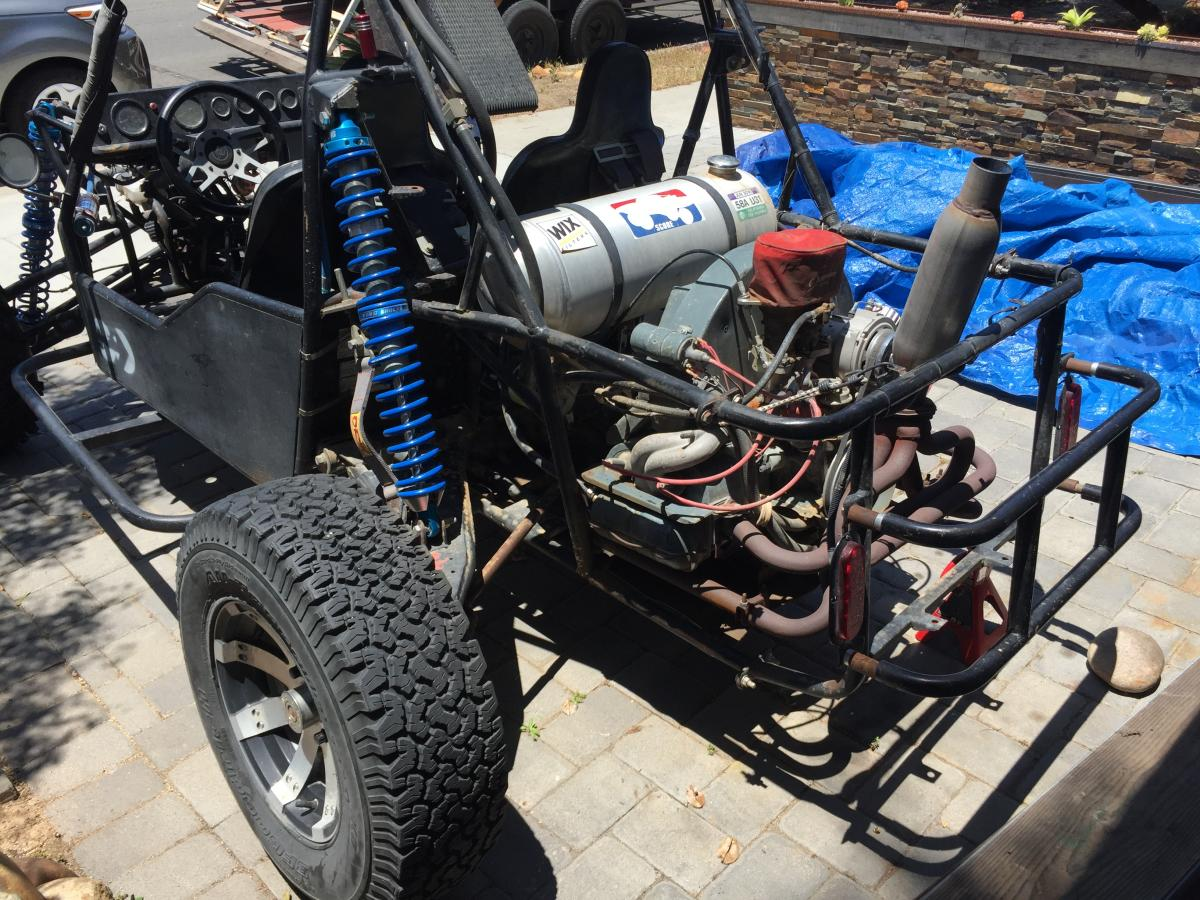 Parting Out 2007 Joyner Sand Viper 1100 Converted to VW