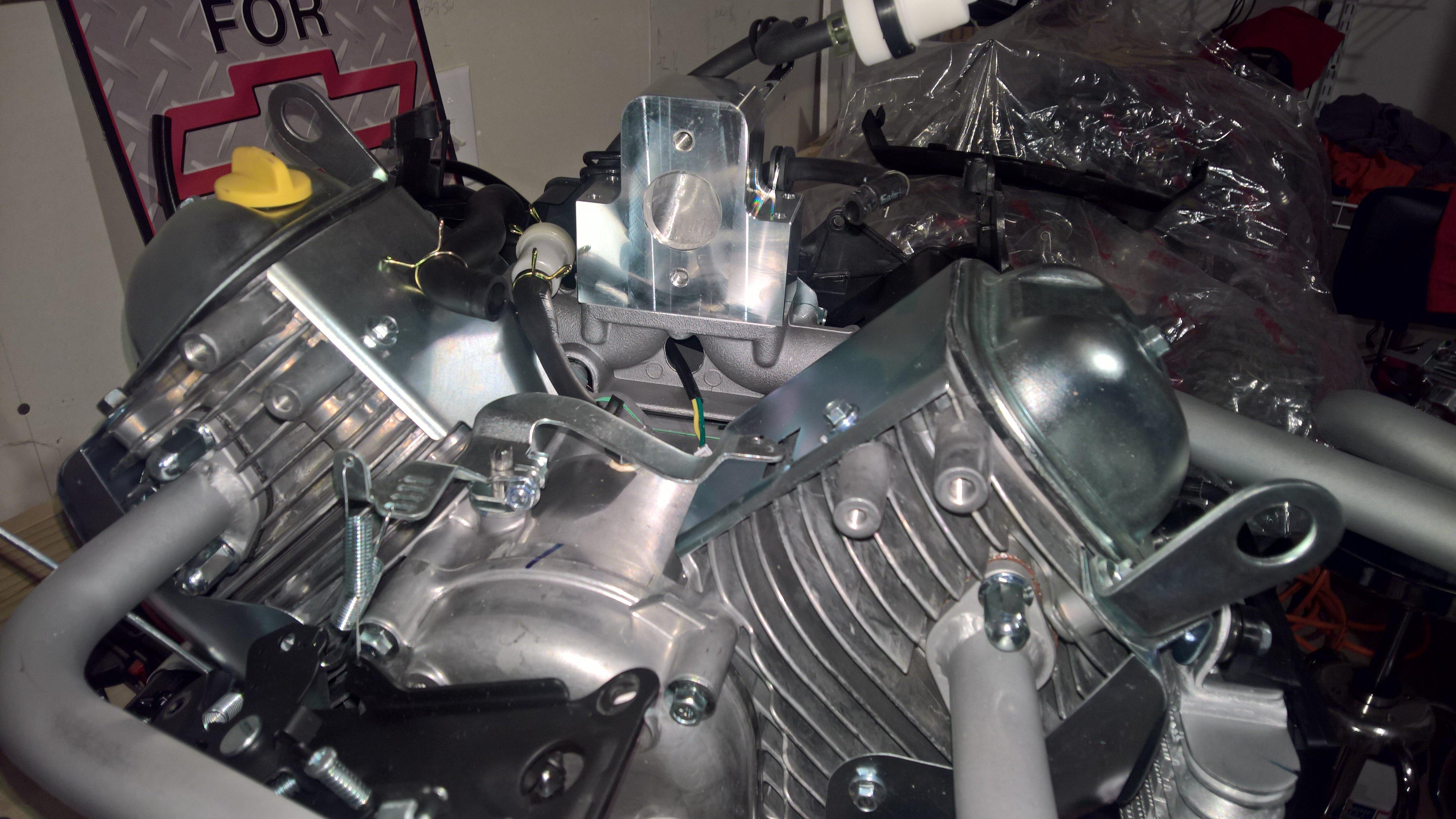 subaru 265cc engine diagram american sportworks 650 2wd engine swap  to predator 670 other  american sportworks 650 2wd engine swap